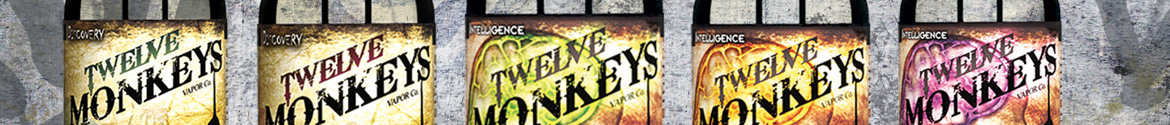 Twelve Monkeys E-Liquid made in Canada
