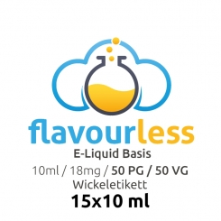 ! VPG Basen-Shot (50/50) 18mg - 10x10ml - flavourless