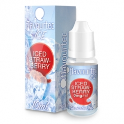 flavourtec ICED STRAWBERRY (geeiste Himbeere) - E-Liquid made in EU