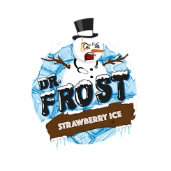 Dr. Frost STRAWBERRY ICE Overdosed E-Liquid made in UK