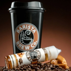 Barista Brew Co. SALTED CARAMEL MACCHIATO 50ml OVERDOSED E-Liquid made in USA