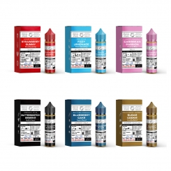 GLAS BASIX ALLE SORTEN 6x50ml Probierpaket OVERDOSED E-Liquid Made in USA