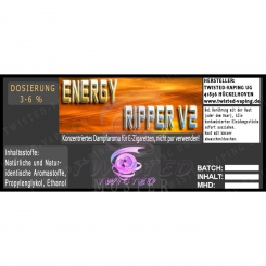 TWISTED Aroma ENERGY RIPPER V2