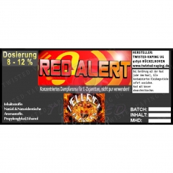 TWISTED Aroma HELLRIDE RED ALERT