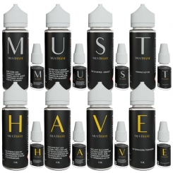 Must Have Aroma Probierpaket (8x 10ml)