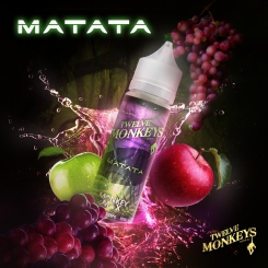 12 Monkeys 50ml MATATA OVERDOSED - E-Liquid made in CANADA