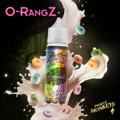 12 Monkeys 50ml O-RANGZ OVERDOSED - E-Liquid made in CANADA