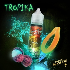 12 Monkeys 50ml TROPIKA OVERDOSED - E-Liquid made in CANADA