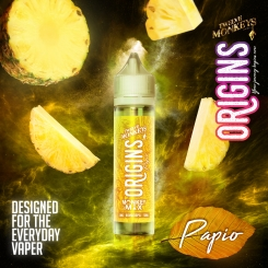 12 Monkeys ORIGINS 50ml PAPIO - E-Liquid made in CANADA