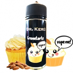 Dr. Kero CREMETORTE 100ml OVERDOSED E-Liquid made in Germany