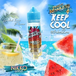 12 Monkeys 50ml ICE AGE NIKKO ICED 70VG - E-Liquid made in CANADA