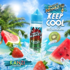 12 Monkeys 50ml ICE AGE KANZI ICED 75VG - E-Liquid made in CANADA