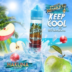 12 Monkeys 50ml ICE AGE HAKUNA ICED 65VG - E-Liquid made in CANADA