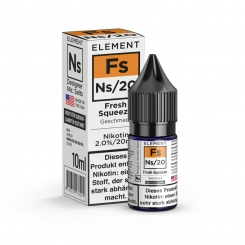 Nikotinsalz Liquid 10ml ELEMENT Fs FRESH SQUEEZE Ns20 20mg