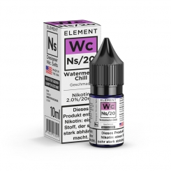 Nikotinsalz Liquid 10ml ELEMENT Wc WATERMELON CHILL Ns20 20mg