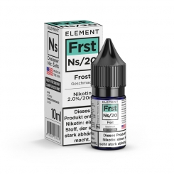 Nikotinsalz Liquid 10ml ELEMENT Frst FROST Ns20 20mg