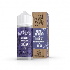 ROYAL APRICOT 100ml OVERDOSED E-Liquid - WILD ROOTS by SIX LICKS