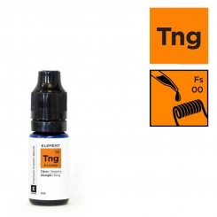 [MHD 01/19] ELEMENT TANGERINE/FRESH SQUEEZE (Orangensaft) - 10ml - E-Liquid made in USA