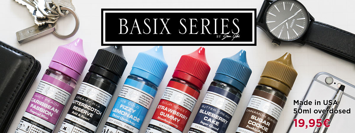 BASIX Overdosed Liquids von GLAS made in USA
